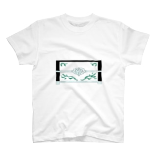 1漢字[日]★002 宝石箱_黒字 Moegiiro×Opaline T-shirts