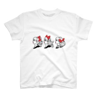 リボントリオ T-shirts