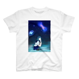 宇宙長電話 T-shirts