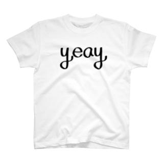 YEAY!!   (イエーイ!!) T-shirts