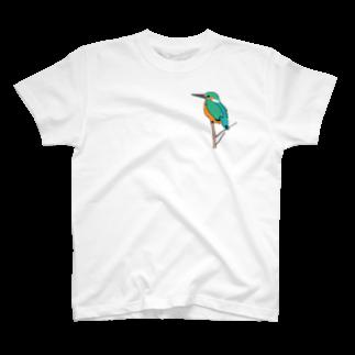SIKARIのkawasemi T-shirts