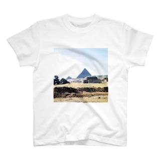 古代エジプト:砂漠に聳えるピラミッド Pyramid/Egypt T-shirts