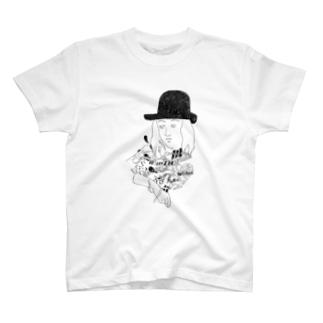 星座をつくる人 T-shirts