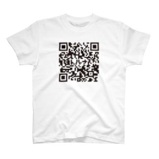 QRコード(トルナ入り) T-shirts