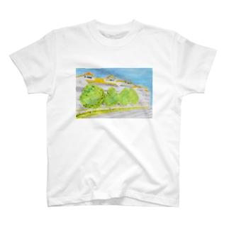 温かい住宅地 T-shirts
