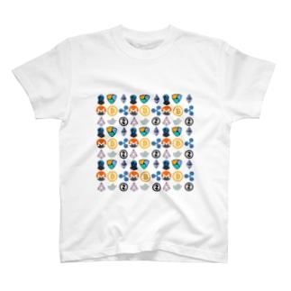 仮想通貨Tシャツ T-shirts
