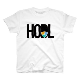 HODL XEM #2 Blackfont T-shirts