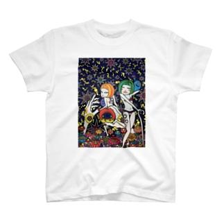 お星様と女子。 T-shirts