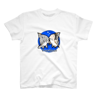 The Cute Corydoras (blue) T-shirts