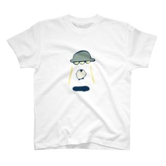 アブダクションされるペンギン T-shirts