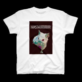 mjhd_devlionのサイケデリック・ハムスター T-shirts