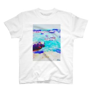 Indigo WORKS ''UMI'' T-shirts