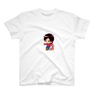なかのっち絶叫チャンネル(登録者数1000人記念入り) T-shirts