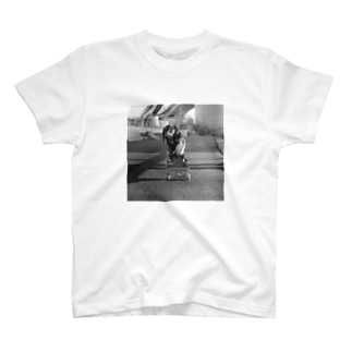 Skating Dog T-shirts