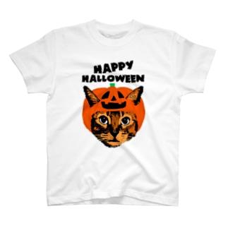 パンプキンキャット T-shirts