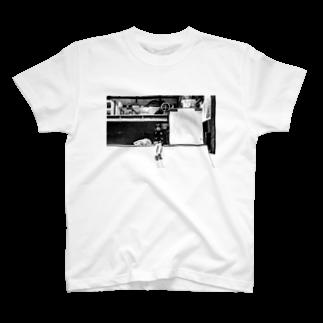 タナカジャナイホウノヤマモトのskate_girl T-shirts