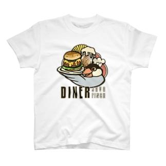 ダイナー・ジャワフィンチ T-shirts