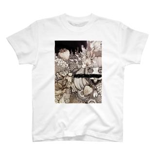 金魚鉢のロリちゃん T-shirts