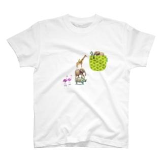 Wild Animal-01 T-shirts