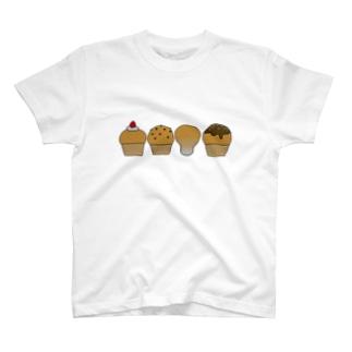カップケーキとノウタケ T-shirts