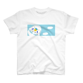 セキセイインコと空 T-shirts
