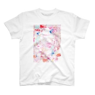 pale pink T-shirts