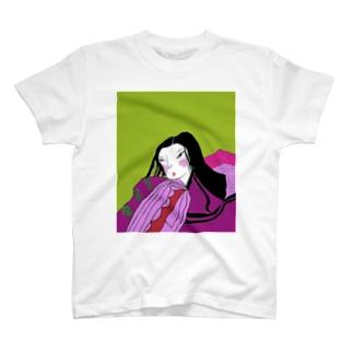 JUNSEN(純仙)古風 涼風納言 T-shirts