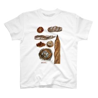クールなバゲッド T-shirts