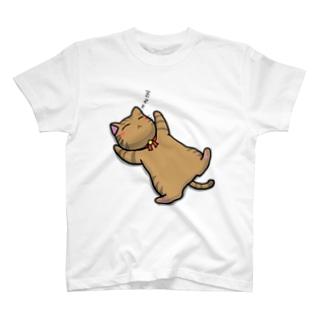 猫のお昼寝 T-shirts