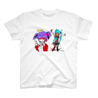 撲殺ネギ女 T-shirts