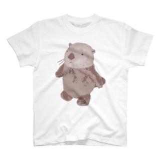 ぼんやりビスケットTシャツ T-shirts