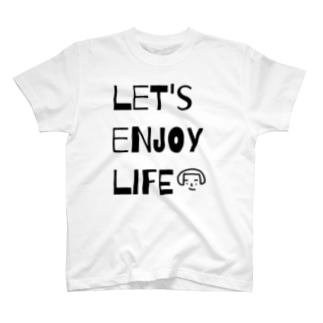 let's enjoy life T-shirts