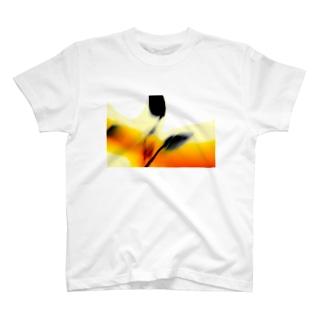 abstratc aragon nature T-shirts