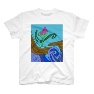 JUNSEN(純仙)大地の水脈 T-shirts