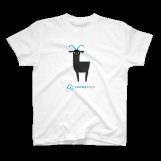 クラウドサインのカプラ T-shirts