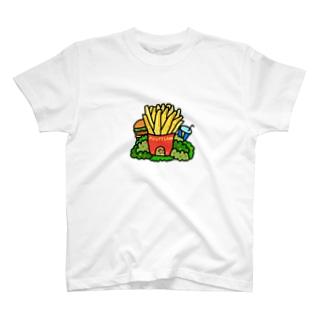 ポテトハウス T-shirts
