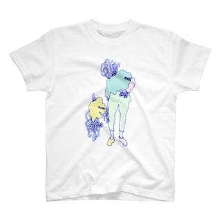 人間化星人 T-shirts