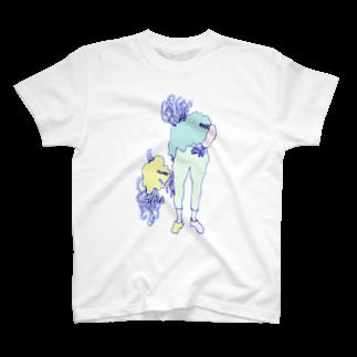 オガサワラミチの人間化星人 T-shirts