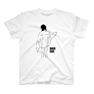 over size girl T-shirts