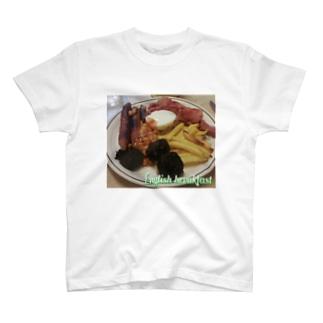 フォーヴァのEnglish breakfast T-shirts