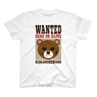 WANTED T-shirts