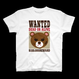 フォーヴァのWANTED T-shirts