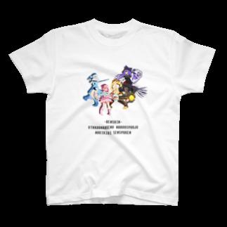 nuwtonの魔法少女 Tシャツ