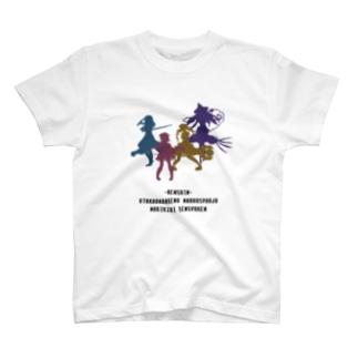 魔法少女のシルエット T-shirts