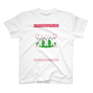 メロー メロー のワンワンワン T-shirts