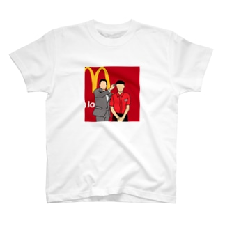 マクドナルド 入団会見 T-shirts
