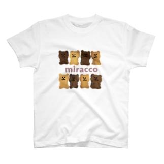 miraccoちびクッキーさん T-shirts
