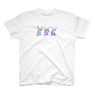 RAITYO TSUMEのUSAGI 3 T-shirts