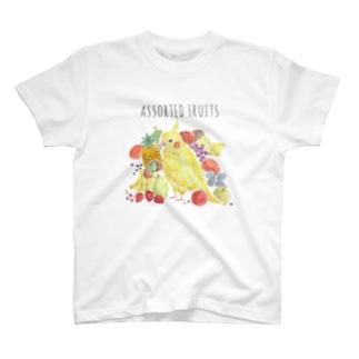 フルーツインコ Tシャツ