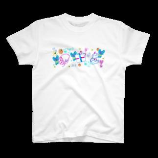 橋本京子のプレゼントのゆめみたの(Karin) T-shirts